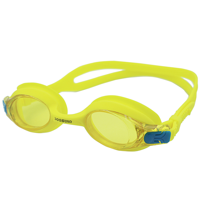 POQSWIM UV Protection Toddler Swim Goggle Clear Lens Silicone Frame Anti-fog Swimming Goggle